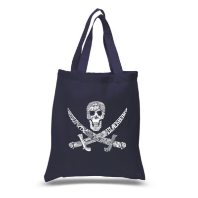 Los Angeles Pop Art Pirate Captains Ships And Imagery Tote