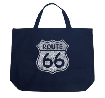 Los Angeles Pop Art Cities Along The Legendary Route 66 Tote