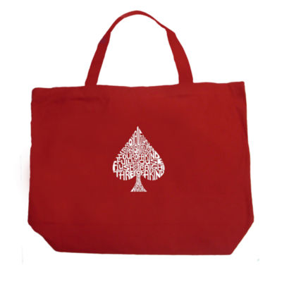 Los Angeles Pop Art Order Of Winning Poker Hands Tote