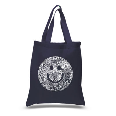Los Angeles Pop Art Smile In Different Languages Tote
