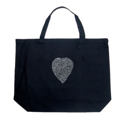 Los Angeles Pop Art William Shakespeare's Sonnet 18 Tote