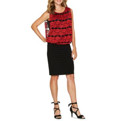 Scarlett Sleeveless Blouson Dress