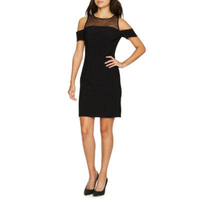One By Eight Short Sleeve Sheath Dress