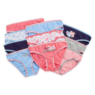 10 Pair Brief Panty Girls