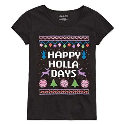 North Pole Trading Co. Christmas Tee - Girls' 4-16 & Plus