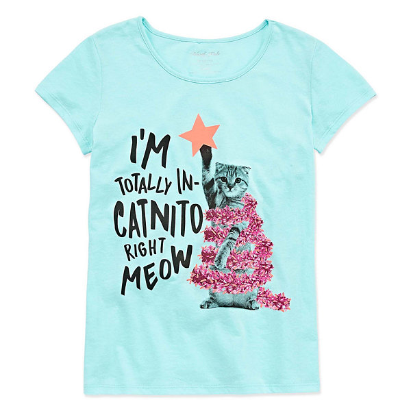 North Pole Trading Co. Christmas Tee - Girls' 4-16 & Plus