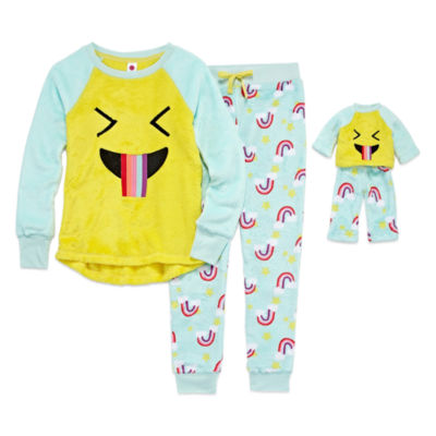 Total Girl Pant Pajama Set Girls