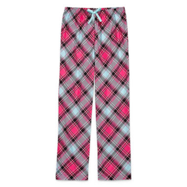 Total Girl Jersey Pajama Pants-Big Kid Girls