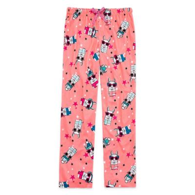Total Girl Jersey Pajama Pants - Big Kid Girls