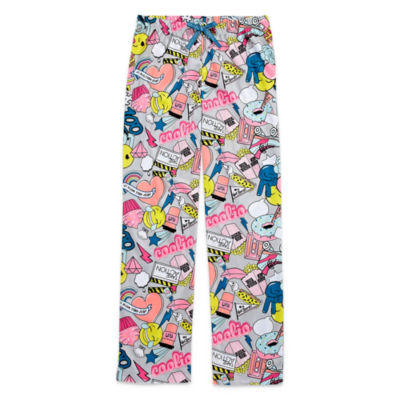 Total Girl Jersey Pajama Pants-Big Kid Girls Plus