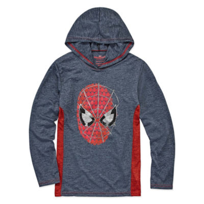 Spiderman Hoodie-Big Kid Boys