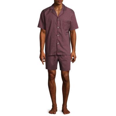 Stafford Sateen Short Sleeve/Short Leg Pajama Set