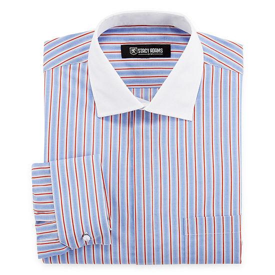 Stacy Adams Mens Long Sleeve Dress Shirt