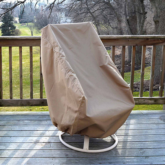 All Weather Protective Cover For High Back Chair
