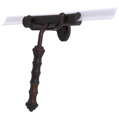 Allied Brass  Shower Squeegee With Wavy Handle