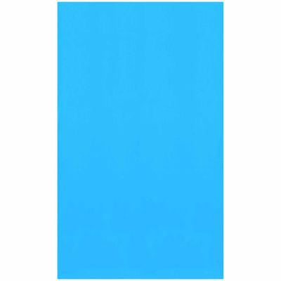 Swimline Blue 33-ft Round Standard Gauge Overlap Liner - 48/52-in