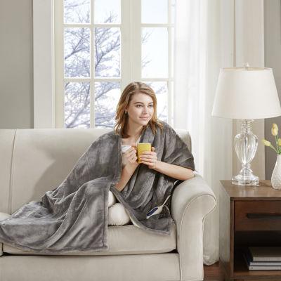 Beautyrest Snuggle Wrap Heated Throw