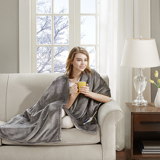 Beautyrest Snuggle Wrap Heated Throw