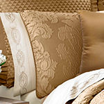 J. Queen New York™  Colonial 4-pc. Damask + Scroll Heavyweight Comforter Set