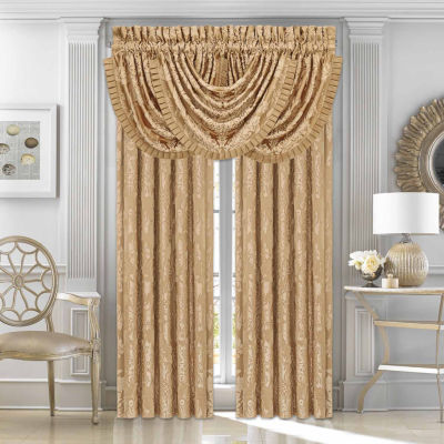 Five Queens Court Colonial Back-Tab Curtain Panel