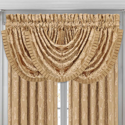 Five Queens Court Colonial Waterfall Valance