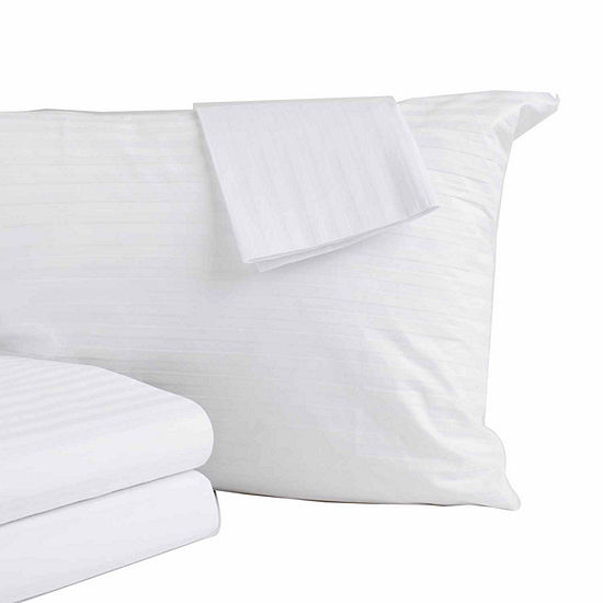 Premium Cotton Anti-Allergen Zippered Pillow Protector 4-Pack