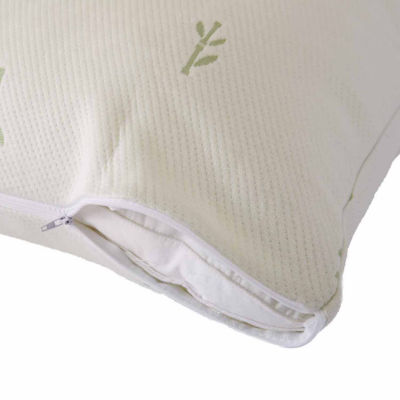 Great Bay Home 2 Pack Bamboo Antimicrobial Pillow Protectors