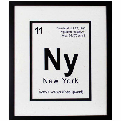 Decor Therapy Breaking New York in Black Frame