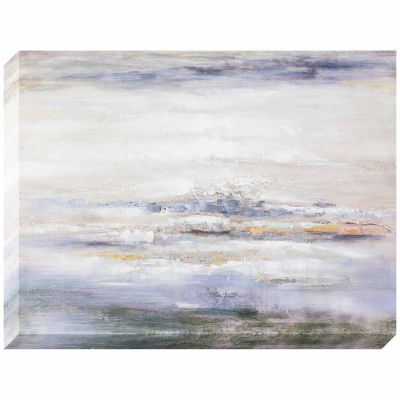 Decor Therapy Ocean Abstract Oil Painted Canvas