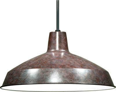 Filament Design 1-Light Old Bronze Outdoor HangingLantern