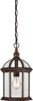 Filament Design 1-Light White Outdoor Hanging Lantern