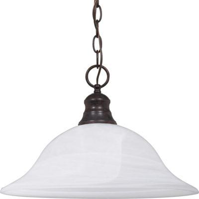 Filament Design 1-Light Old Bronze Pendant HangingDome