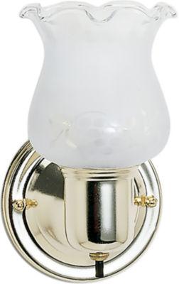Filament Design 1-Light Polished Brass Bath Vanity