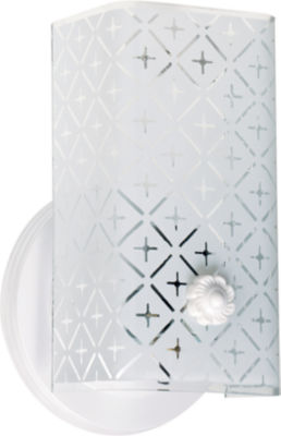 Filament Design 1-Light White Bath Vanity