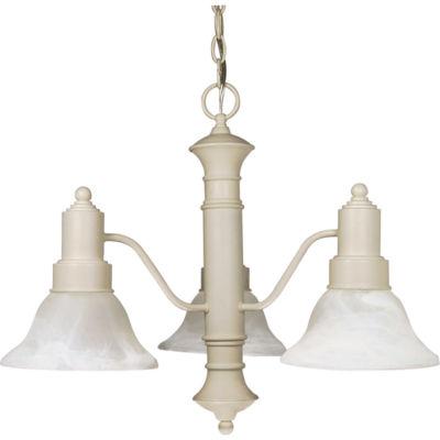 Filament Design 3-Light Old Bronze Chandelier