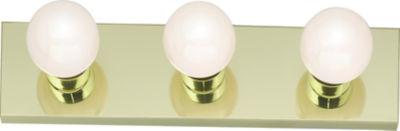 Filament Design 3-Light Polished Brass Bath Vanity