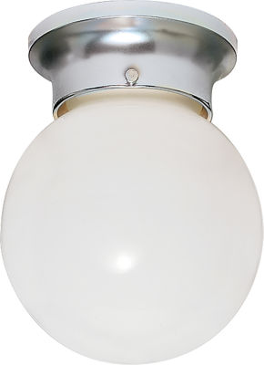 Filament Design 1-Light Polished Brass Flush Mount