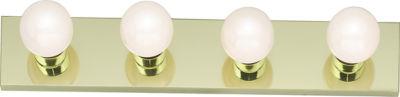 Filament Design 4-Light Polished Brass Bath Vanity