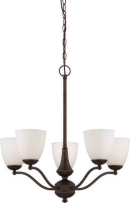 Filament Design 5-Light Prairie Bronze Chandelier