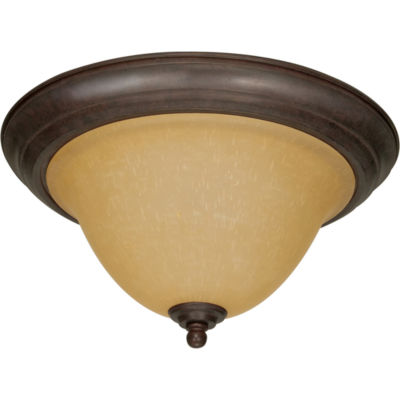 Filament Design 2-Light Sonoma Bronze Flush Mount