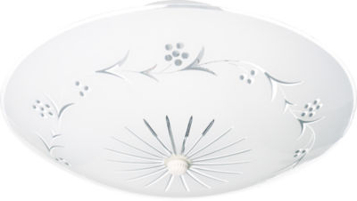 Filament Design 2-Light White Flush Mount