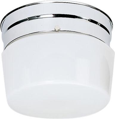 Filament Design 1-Light Polished Chrome Flush Mount