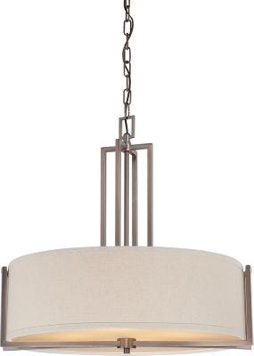 Filament Design 4-Light Hazel Bronze Pendant
