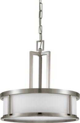 Filament Design 4-Light Brushed Nickel Pendant