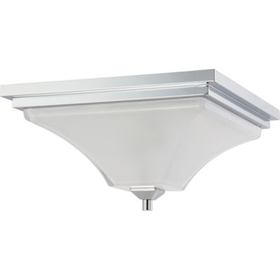 Filament Design 2-Light Polished Chrome Flush Mount