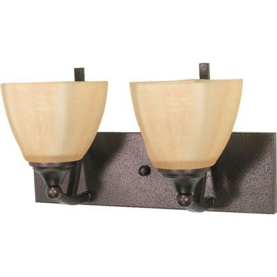 Filament Design 2-Light Copper Bronze Bath Vanity