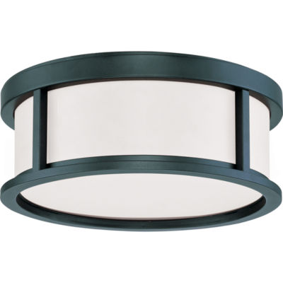 Filament Design 2-Light Aged Bronze Flush Mount