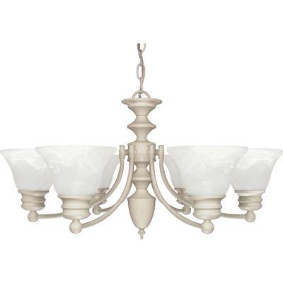 Filament Design 6-Light Mahogany Bronze Chandelier