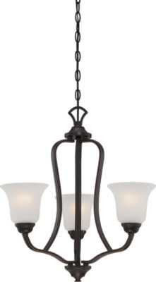 Filament Design 3-Light Sudbury Bronze Chandelier