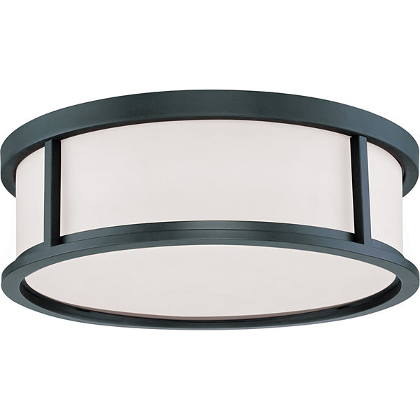 Filament Design 3-Light Aged Bronze Flush Mount